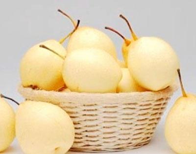 秋季早上最好吃个梨 水果的最佳食用时间